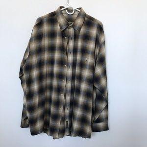 Timberland Weathergear shirt SZ XL button up Plaid